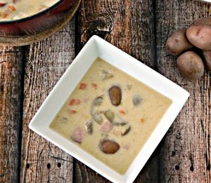 Creamer Ham Potato Soup - The Little Potato Company