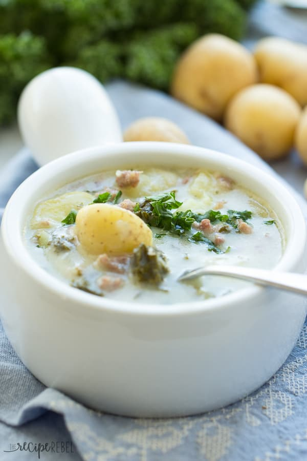 Slow Cooker Zuppa Toscana
