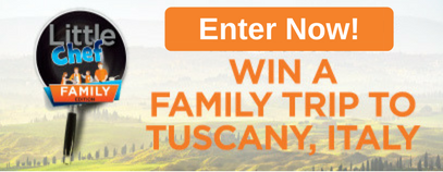 Enter Now! Win a Family Trip to Tuscany, Italy!