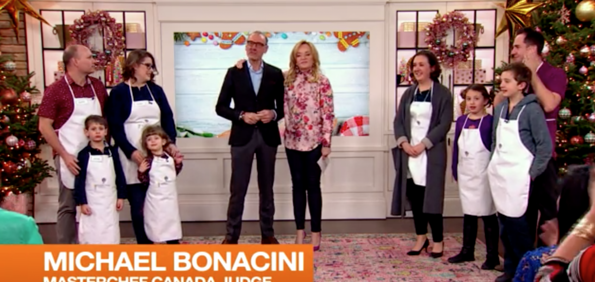Little Chef Family Edition winners: Bell and Sparling Families each win an ultimate culinary experience in Tuscany!