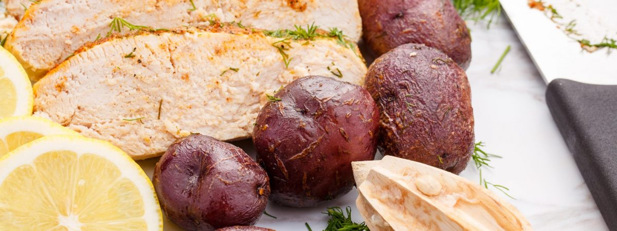Slow Cooker Lemon-Dill Turkey Breast and Potatoes