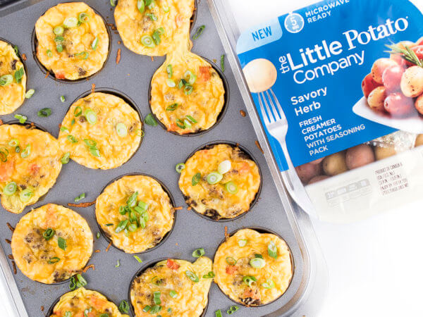 Egg Cups with Potatoes and Sausages - The Little Potato Company